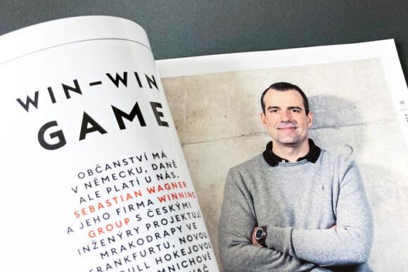 Sebastian Wagner und Winning Group in der Zeitschrift Forbes